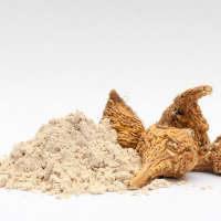 Maca is an ingredient in Laki Coffee.